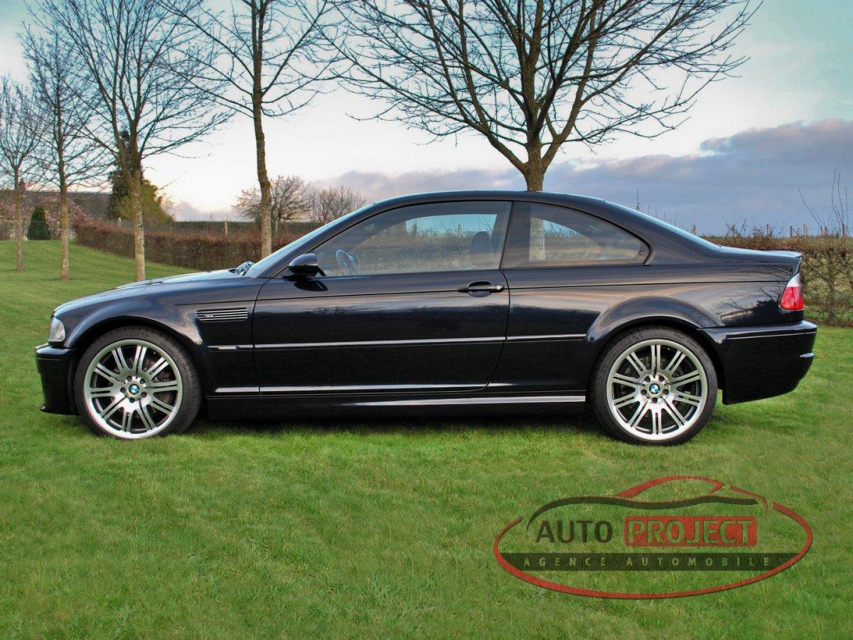 Bmw M3 A Vendre >> BMW SERIE 3 E46 COUPE M3 343 - Voiture d'occasion - EVREUX (27000) - AUTO PROJECT Agence ...