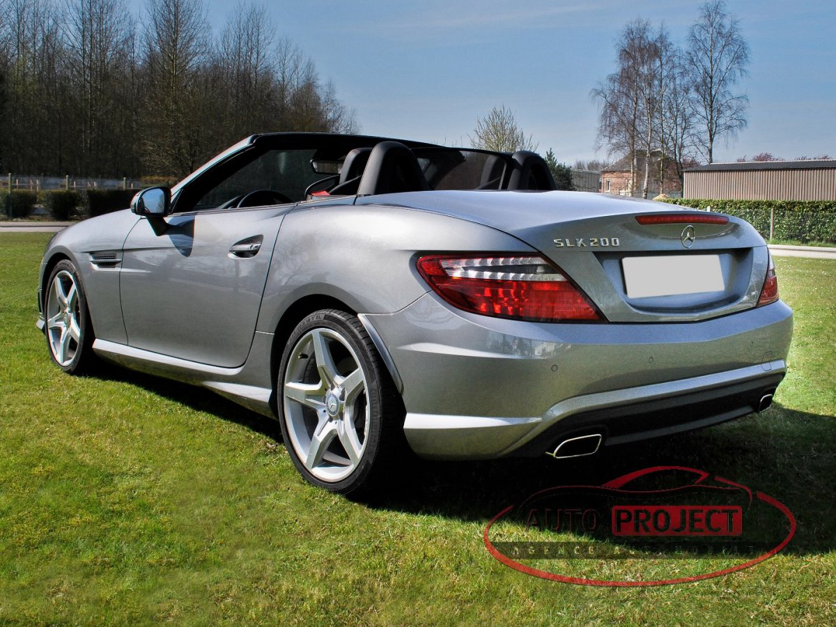 mercedes benz classe slk iii 200 blueefficiency voiture. Black Bedroom Furniture Sets. Home Design Ideas
