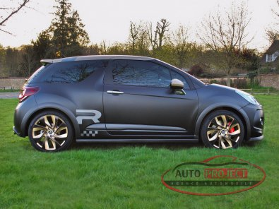 CITROEN DS3 1.6 THP 202 RACING GOLD MAT - 6