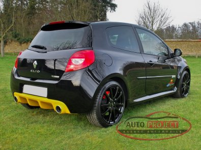 RENAULT CLIO III 2.0 16V 203 RS RED BULL RACING RB7 N°314 - 5
