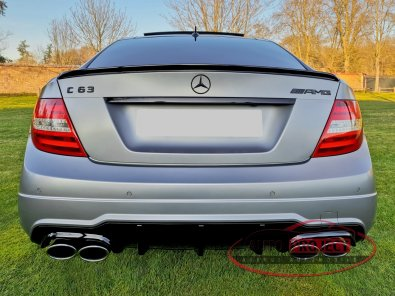 MERCEDES-BENZ CLASSE C III COUPE 63 AMG EDITION 507 SPEEDSHIFT MCT - 4