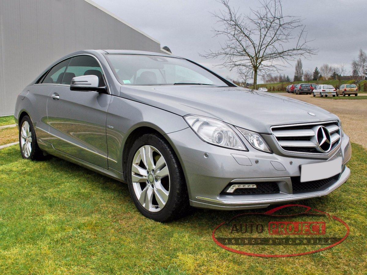 Mercedes benz classe e coupe iv 350 cdi blue efficiency executive voiture d 39 occasion - Mercedes coupe e occasion ...