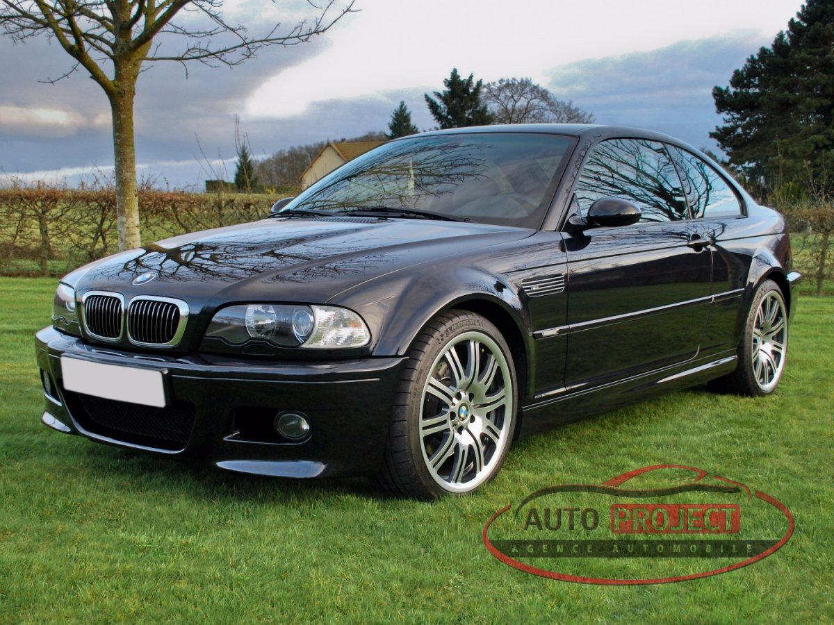 bmw serie 3 e46 coupe m3 343 voiture d 39 occasion disponible auto project agence automobile. Black Bedroom Furniture Sets. Home Design Ideas