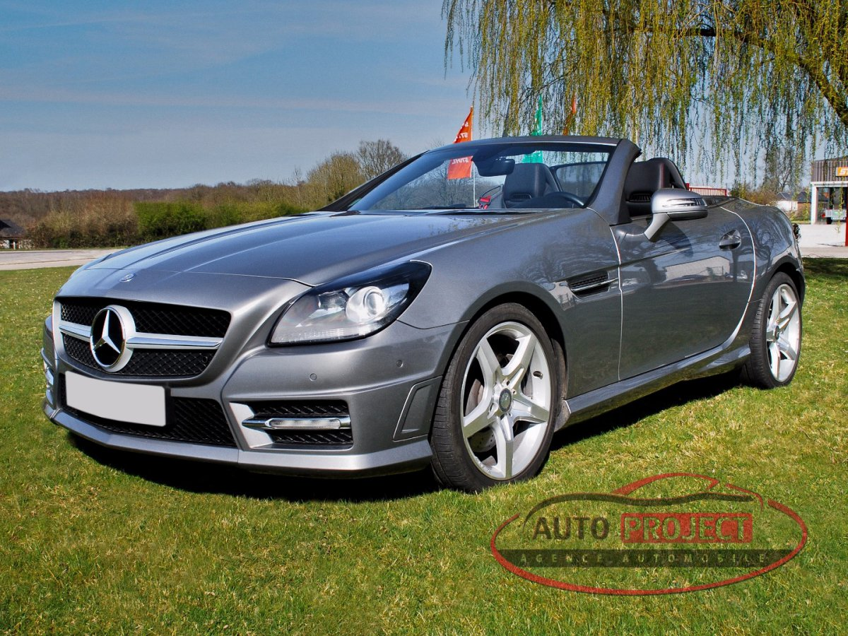 mercedes benz classe slk iii 200 blueefficiency voiture d 39 occasion disponible auto project. Black Bedroom Furniture Sets. Home Design Ideas