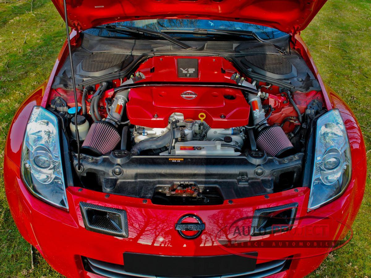 Nissan 350z A Vendre >> NISSAN 350Z COUPE 3.5 V6 313 PACK - Voiture d'occasion - PARVILLE (27180) - AUTO PROJECT Agence ...