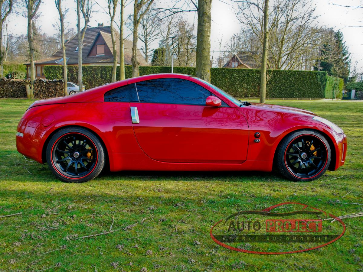 nissan 350z coupe 3 5 v6 313 pack voiture d 39 occasion parville 27180 auto project agence. Black Bedroom Furniture Sets. Home Design Ideas