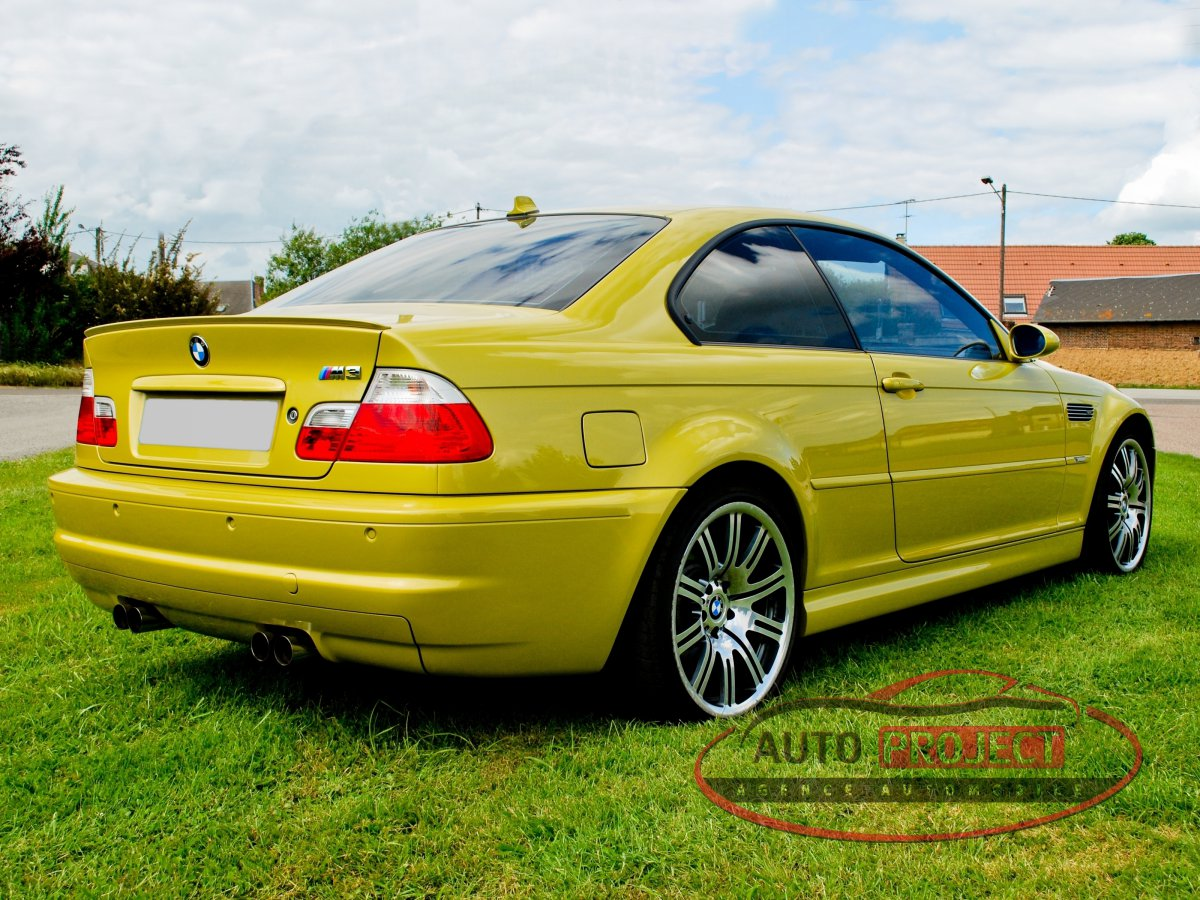 bmw serie 3 e46 coupe m3 343 voiture d 39 occasion parville 27180 auto project agence. Black Bedroom Furniture Sets. Home Design Ideas