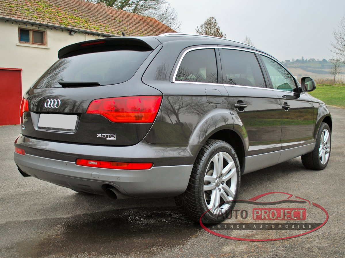 audi q7 3 0 v6 tdi 233 avus quattro tiptronic 7pl. Black Bedroom Furniture Sets. Home Design Ideas