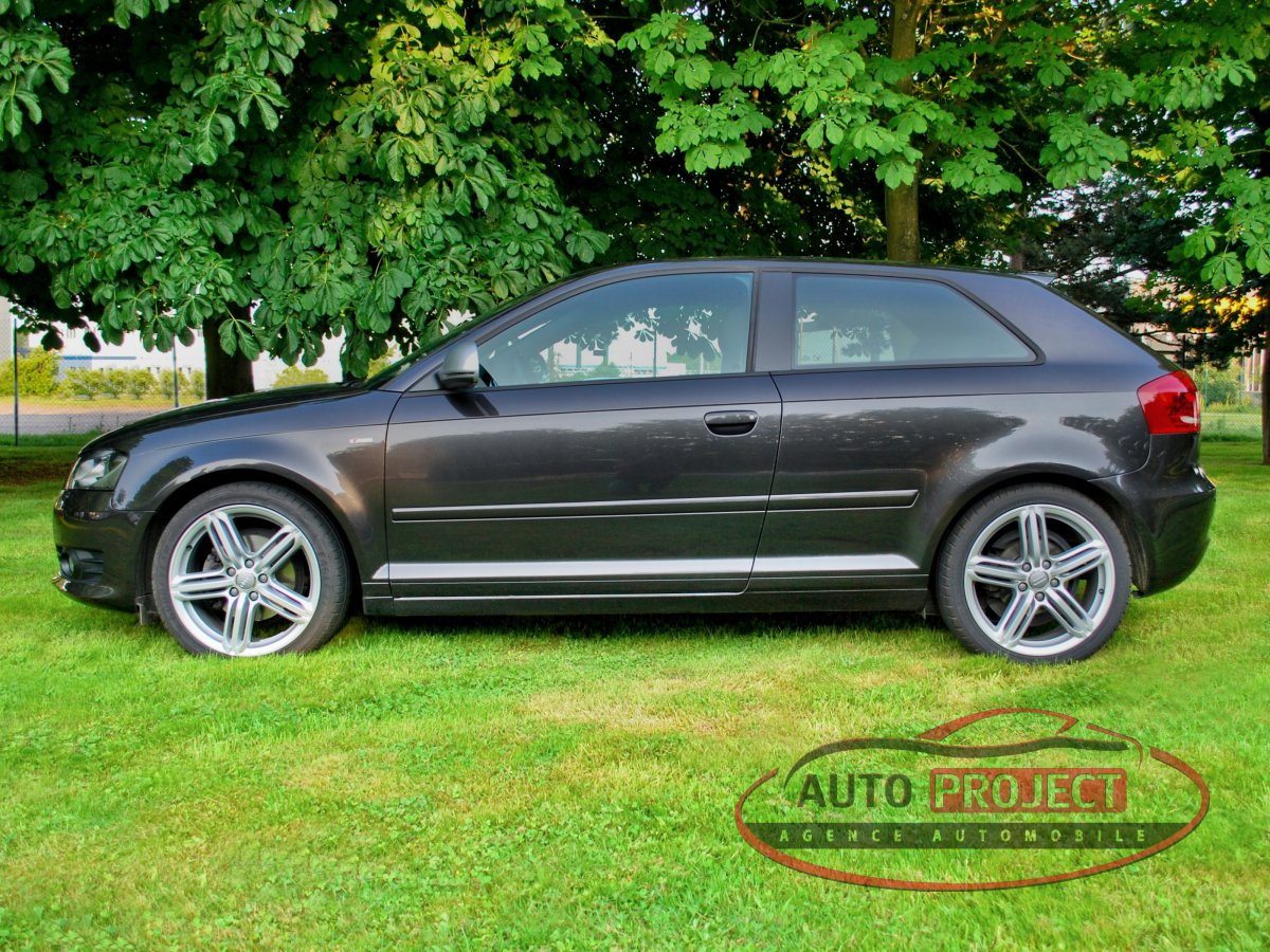 audi a3 ii 2 0 tdi 140 dpf s line voiture d 39 occasion bois d 39 ennebourg 76160 auto project. Black Bedroom Furniture Sets. Home Design Ideas