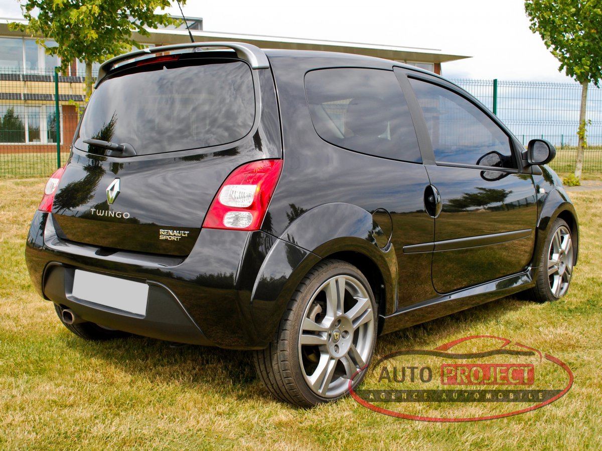 renault twingo ii 1 6 16v 133 rs cup voiture d 39 occasion harcourt 27800 auto project. Black Bedroom Furniture Sets. Home Design Ideas