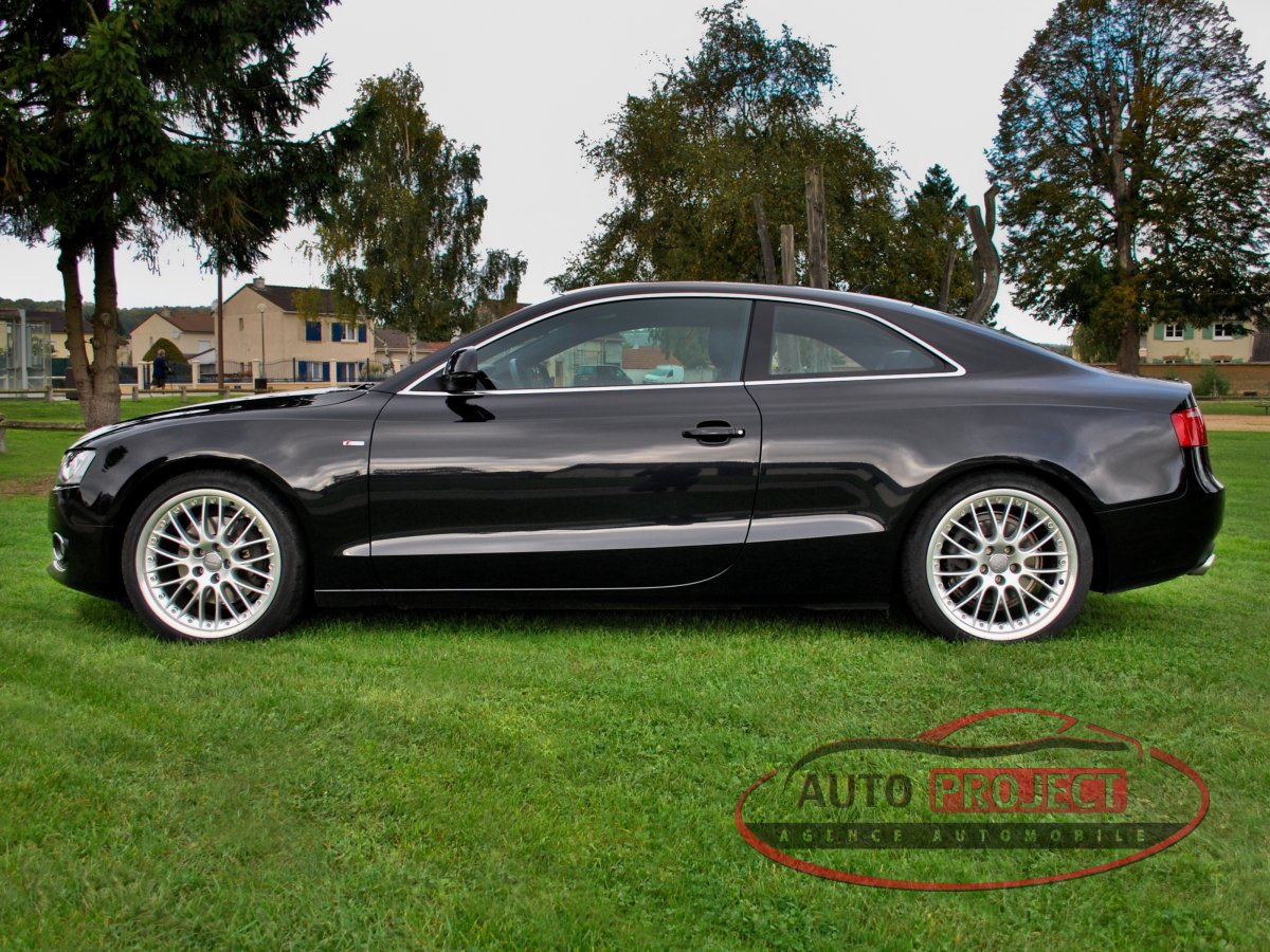 audi a5 coupe 2 7 v6 tdi 190 dpf s line multitronic voiture d 39 occasion disponible saint. Black Bedroom Furniture Sets. Home Design Ideas