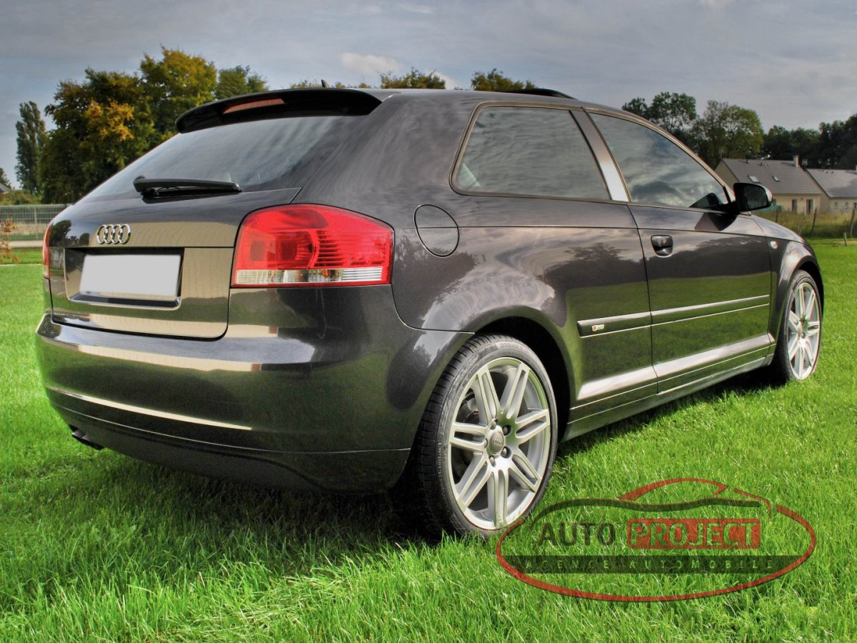 audi a3 ii 2 0 tdi 140 dpf ambition luxe voiture d. Black Bedroom Furniture Sets. Home Design Ideas