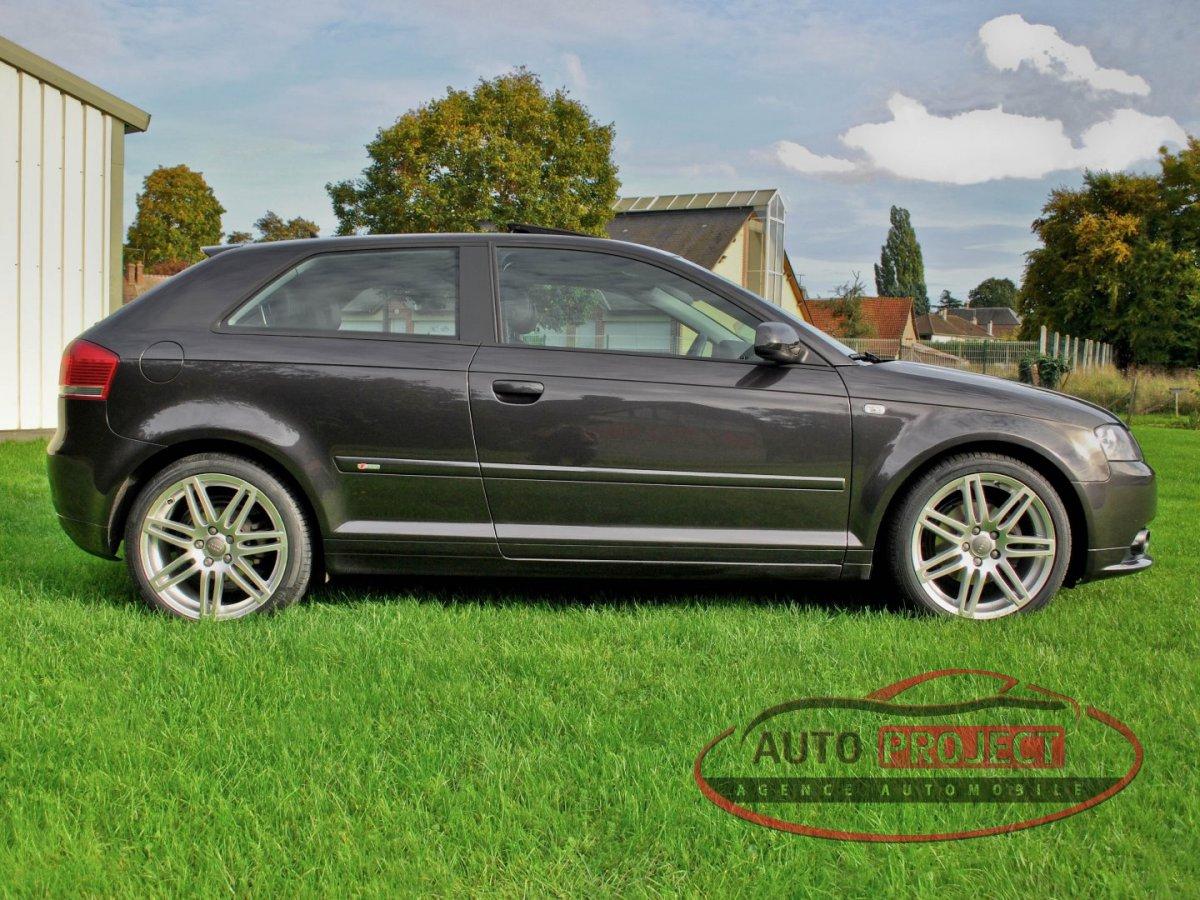 Audi A3 A Vendre >> AUDI A3 II 2.0 TDI 140 DPF AMBITION LUXE - Voiture d ...