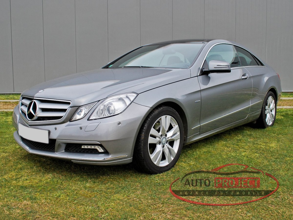 mercedes benz classe e coupe iv 350 cdi blue efficiency. Black Bedroom Furniture Sets. Home Design Ideas