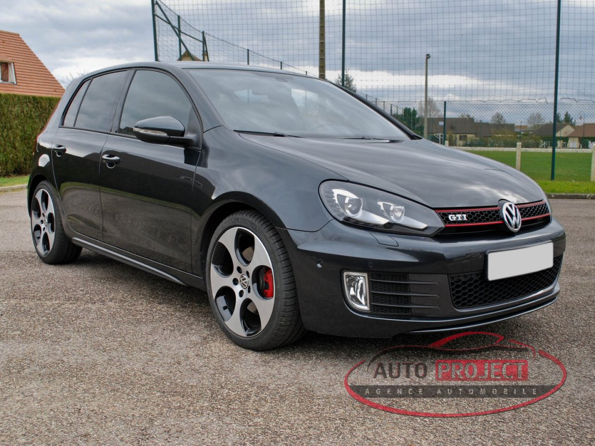 volkswagen golf vi 2 0 tsi 210 gti voiture d 39 occasion. Black Bedroom Furniture Sets. Home Design Ideas