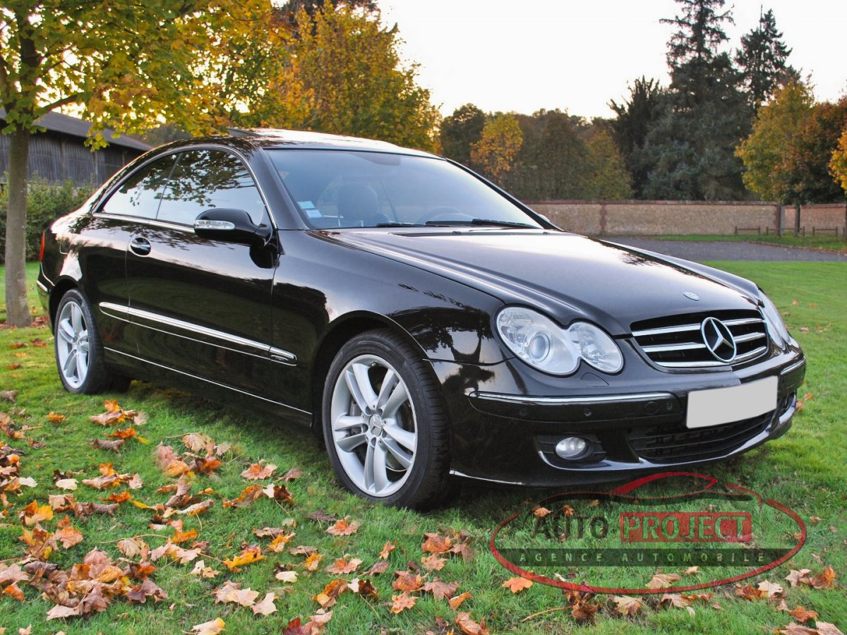 Mercedes benz classe clk ii coupe 320 cdi avantgarde 7g tronic voiture d 39 occasion tosny - Mercedes coupe e occasion ...